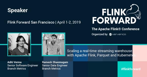 Flink Forward, Branch metrics, streamprocessing, Flink, Apache Parquet, Kubernetes