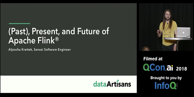 (Past), Present, and Future of Apache Flink