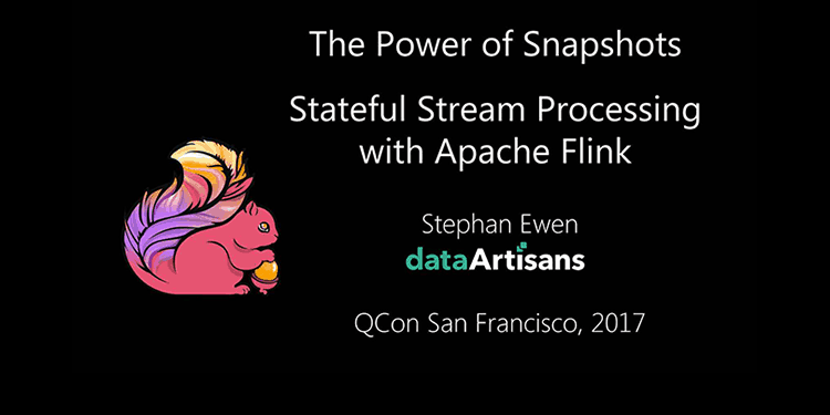 The Power of Distributed Snapshots in Apache Flink