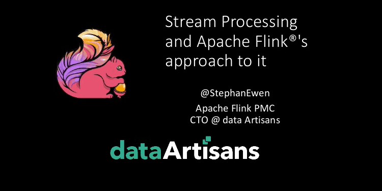 Stream Processing as a Foundational Paradigm and Apache Flink's Approach