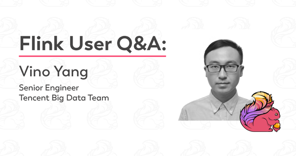 Vino Yang, Apache Flink, Flink User, open source