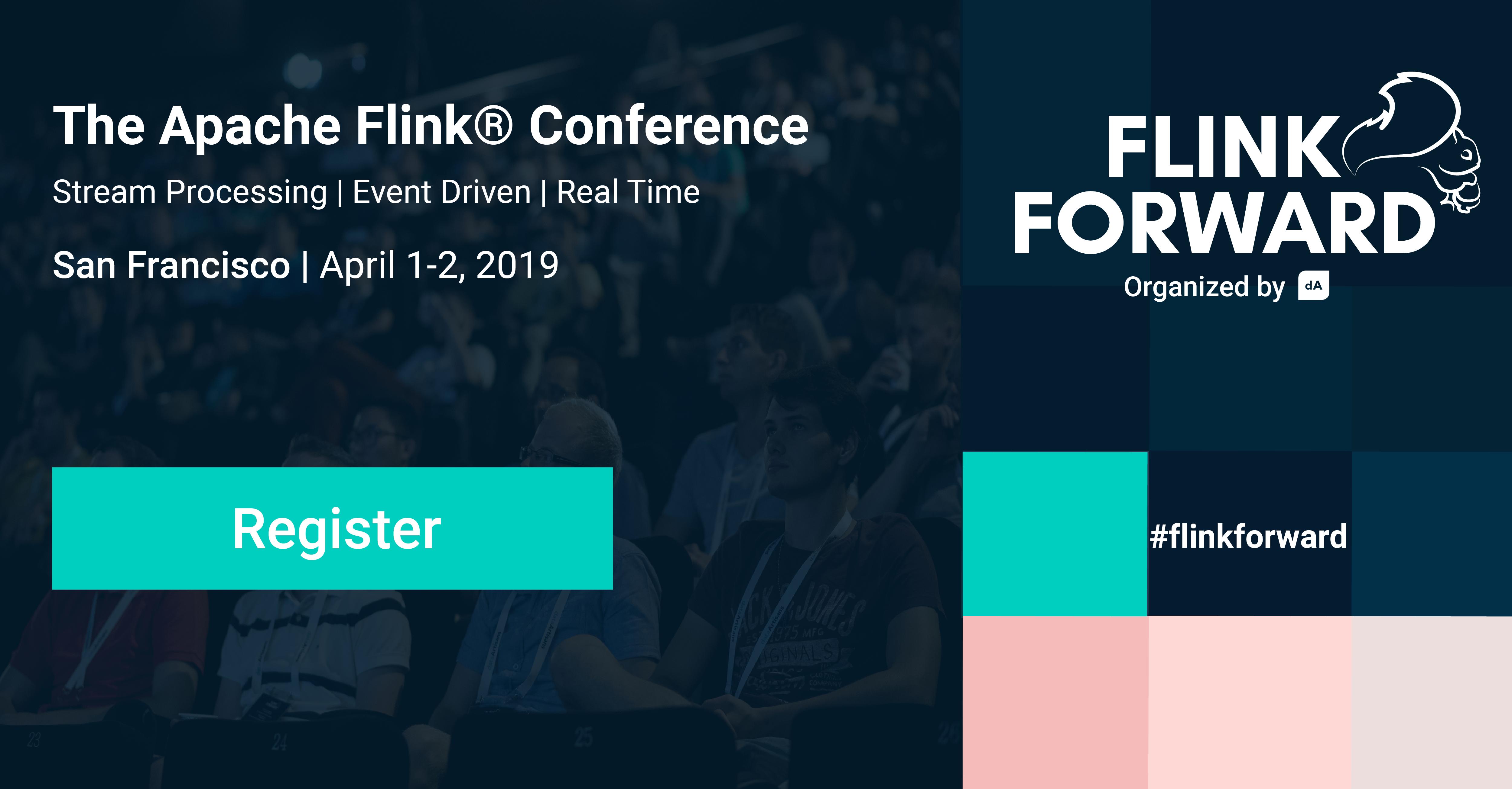 Flink Forward, Apache Flink, Conference, San Francisco