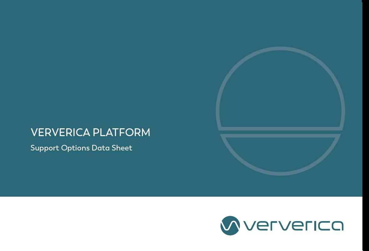 Ververica Support Sheet