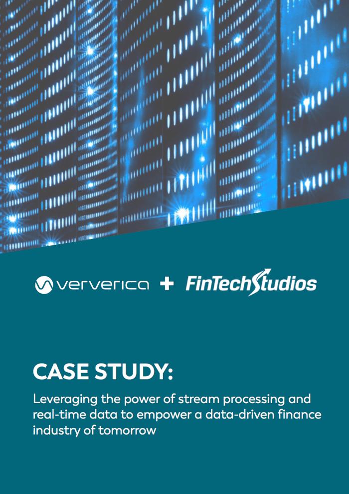 FinTech Studios and Ververica case study