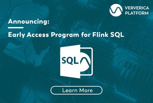 Ververica Platform SQL, Flink SQL, Streaming SQL, SQL, Flink, Apache Flink