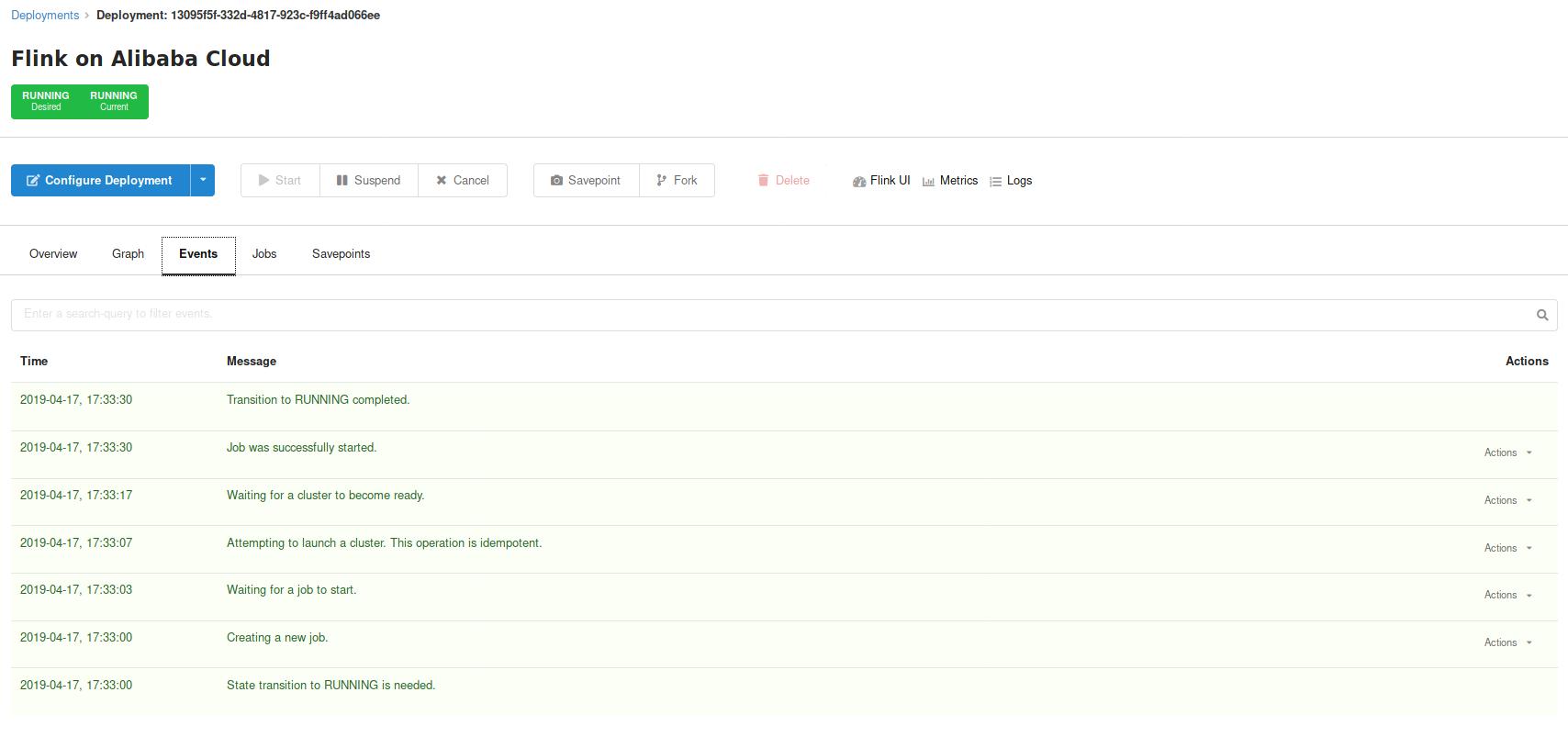 Ververica Platform, Alibaba Cloud, image 3