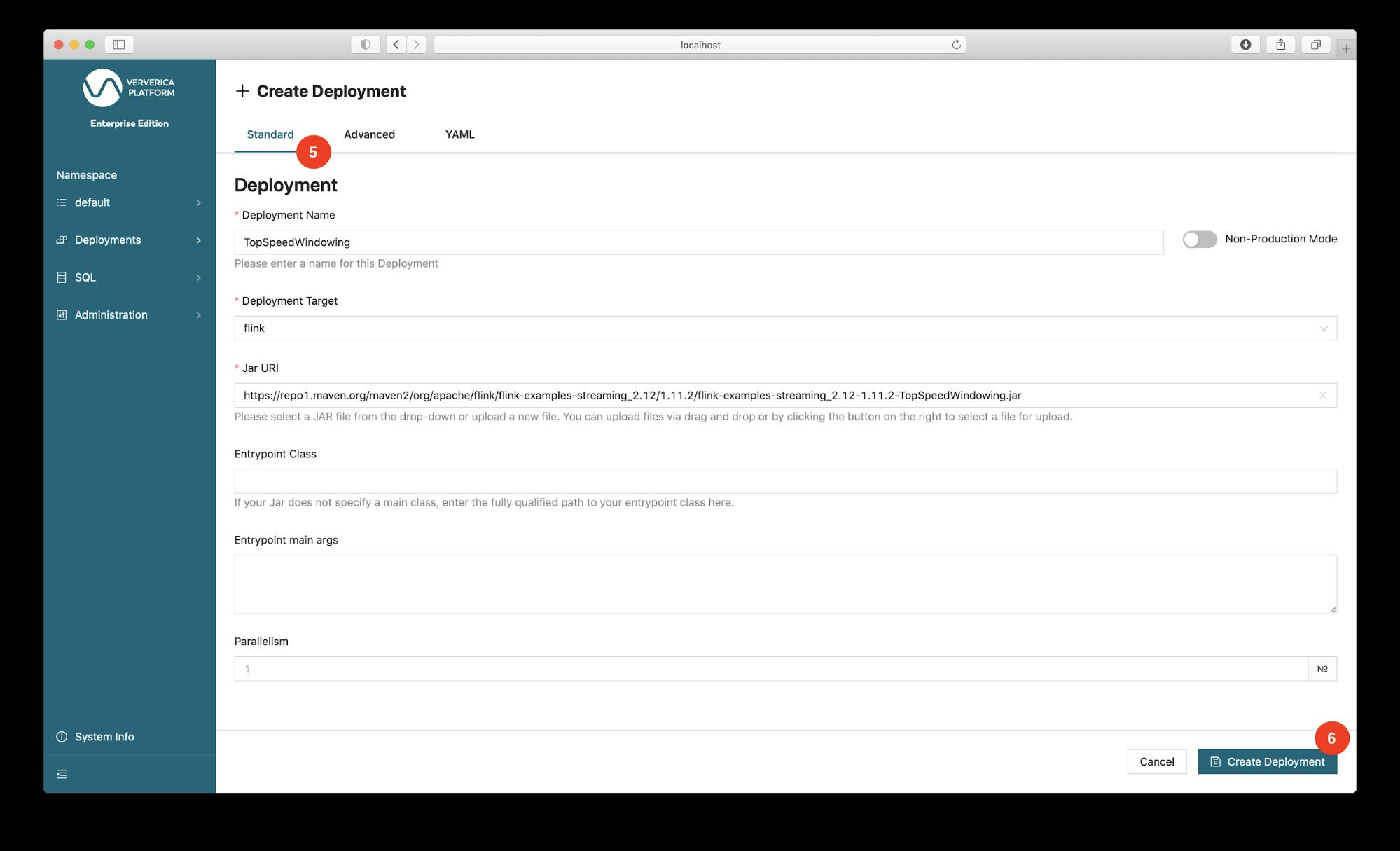Ververica Platform, Flink on Kubernetes, Flink Deployment