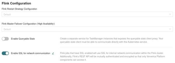 Ververica Platform, SSL Enable, OpenSSL, JavaSSL