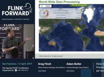 How John Deere uses Flink to process millions of sensor measurements per second