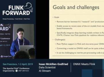 Deploying ONNX models on Flink