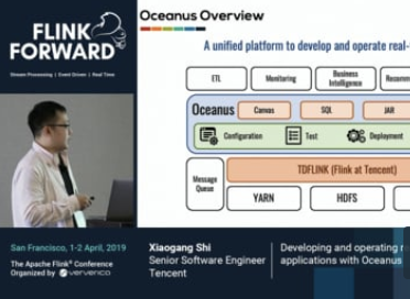 Developing and operating real-time applications with Oceanus