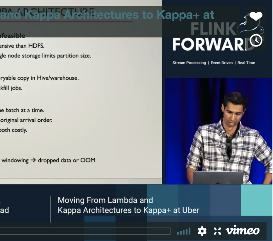 Moving from Lambda and Kappa Architectures to Kappa+ at Uber