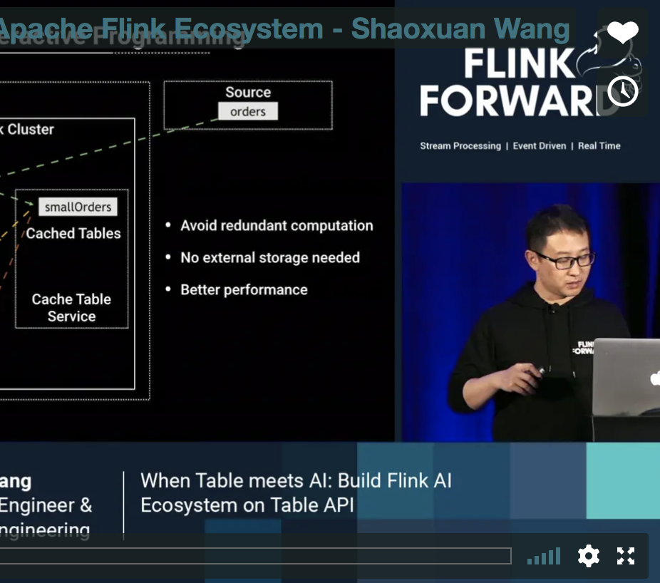 Build a Table-centric Apache Flink Ecosystem