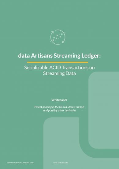 Download the data Artisans Streaming Ledger Whitepaper
