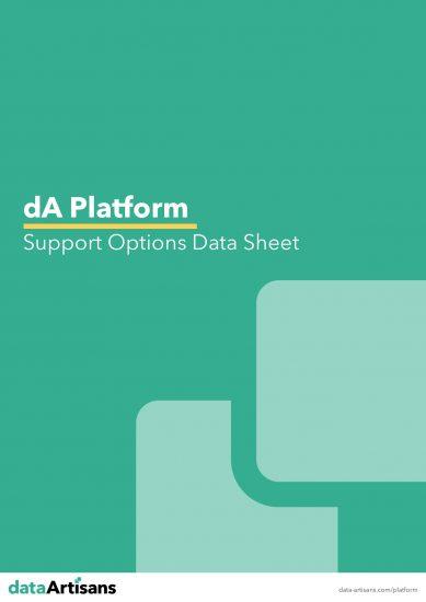 Download the dA Platform Support Options Data Sheet